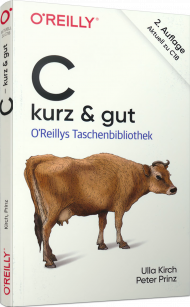 C - kurz & gut, ISBN: 978-3-96009-107-3, Best.Nr. OR-107, erschienen 10/2019, € 14,90