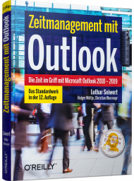 Zeitmanagement mit Outlook, ISBN: 978-3-96009-119-6, Best.Nr. OR-119, erschienen 12/2019, € 19,90