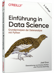 Einführung in Data Science, ISBN: 978-3-96009-123-3, Best.Nr. OR-123, erschienen 11/2019, € 36,90