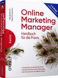 Online Marketing Manager, ISBN: 978-3-96009-131-8, Best.Nr. OR-131, erschienen 09/2020, € 39,90