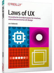 Laws of UX, ISBN: 978-3-96009-156-1, Best.Nr. OR-156, erschienen 09/2020, € 24,90