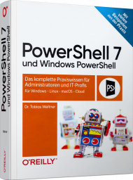 PowerShell 7 und Windows PowerShell, ISBN: 978-3-96009-163-9, Best.Nr. OR-163, € 29,90