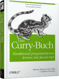Das Curry-Buch - Funktional programmieren lernen mit JavaScript, Best.Nr. OR-369, € 29,90
