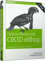 Online-Shops mit OXID eShop, ISBN: 978-3-95561-776-9, Best.Nr. OR-776, erschienen 06/2014, € 39,90