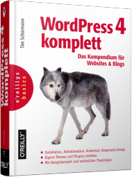 WordPress 4 komplett, ISBN: 978-3-95561-854-4, Best.Nr. OR-854, erschienen 01/2015, € 39,90