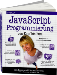 JavaScript-Programmierung von Kopf bis Fu�, Best.Nr. OR-866, € 44,90