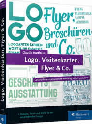 Logo, Visitenkarten, Flyer & Co., ISBN: 978-3-8362-3038-4, Best.Nr. RW-3038, erschienen 11/2015, € 29,90
