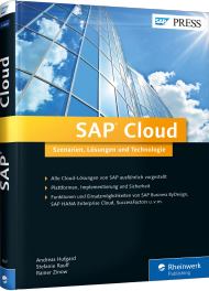 SAP Cloud, ISBN: 978-3-8362-3637-9, Best.Nr. RW-3637, erschienen 10/2015, € 69,90