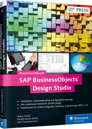 Praxishandbuch SAP BusinessObjects Design Studio, Best.Nr. RW-3665, € 69,90