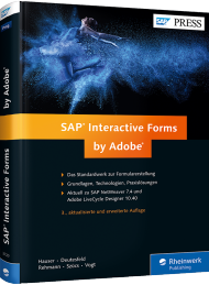 SAP Interactive Forms by Adobe, ISBN: 978-3-8362-3720-8, Best.Nr. RW-3720, erschienen 08/2015, € 69,90