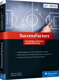 SuccessFactors, ISBN: 978-3-8362-3889-2, Best.Nr. RW-3889, erschienen 01/2016, € 69,90