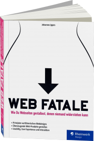 Web Fatale, ISBN: 978-3-8362-3898-4, Best.Nr. RW-3898, erschienen 04/2016, € 34,90