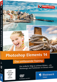Photoshop Elements 14 - Das umfassende Videotraining, Best.Nr. RW-3907, € 35,95
