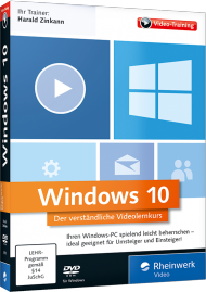 Windows 10 (Videotraining), Best.Nr. RW-3979, € 35,95