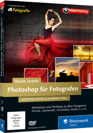 Photoshop f�r Fotografen (Videotraining), Best.Nr. RW-4000, € 35,95