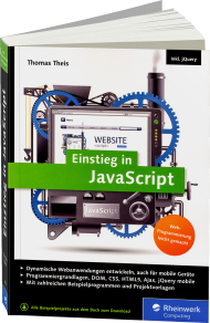 Einstieg in JavaScript, Best.Nr. RW-4074, € 24,90