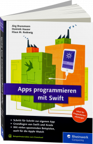 Apps programmieren mit Swift, Best.Nr. RW-4090, € 29,90