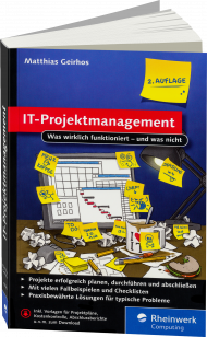 IT-Projektmanagement, ISBN: 978-3-8362-4098-7, Best.Nr. RW-4098, erschienen 01/2017, € 12,90
