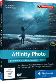 Affinity Photo (Videotraining), Best.Nr. RW-4149, € 35,95