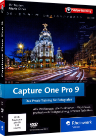 Capture One Pro 9 (Videotraining), Best.Nr. RW-4197, € 44,95