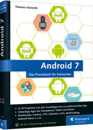 Android 7 - Apps entwickeln mit Android Studio, Best.Nr. RW-4200, € 34,90