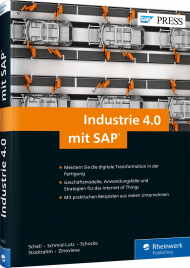 Industrie 4.0 mit SAP, ISBN: 978-3-8362-4272-1, Best.Nr. RW-4272, erschienen 05/2017, € 69,90