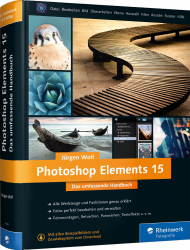 Photoshop Elements 15 - Das umfassende Handbuch, Best.Nr. RW-4330, € 39,90