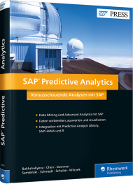 SAP Predictive Analytics, ISBN: 978-3-8362-4415-2, Best.Nr. RW-4415, erschienen 08/2017, € 79,90