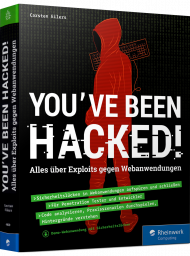 You've been hacked!, ISBN: 978-3-8362-4460-2, Best.Nr. RW-4460, erschienen 01/2019, € 39,90