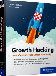 Growth Hacking, ISBN: 978-3-8362-5935-4, Best.Nr. RW-5935, erschienen 01/2018, € 34,90