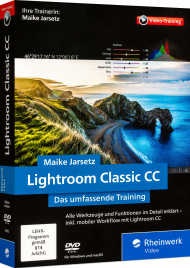 Lightroom Classic CC - Das umfassende Video-Training, ISBN: 978-3-8362-5993-4, Best.Nr. RW-5993, erschienen 01/2018, € 35,95