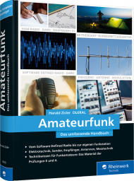 Amateurfunk, ISBN: 978-3-8362-6078-7, Best.Nr. RW-6078, erschienen 11/2020, € 49,90