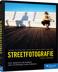 Streetfotografie made in Germany, ISBN: 978-3-8362-6117-3, Best.Nr. RW-6117, erschienen 08/2018, € 39,90