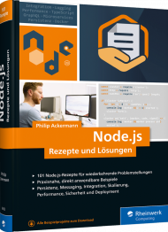 Node.js, ISBN: 978-3-8362-6453-2, Best.Nr. RW-6453, erschienen , € 49,90