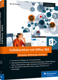 Collaboration mit Office 365, ISBN: 978-3-8362-6633-8, Best.Nr. RW-6633, erschienen 05/2019, € 49,90