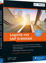 Logistik mit SAP S/4HANA, ISBN: 978-3-8362-6671-0, Best.Nr. RW-6671, erschienen 06/2019, € 79,90