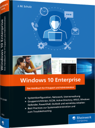 Windows 10 Enterprise, ISBN: 978-3-8362-6904-9, Best.Nr. RW-6904, erschienen , € 39,90