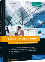 Cloud-Infrastrukturen, ISBN: 978-3-8362-6948-3, Best.Nr. RW-6948, erschienen 05/2020, € 49,90