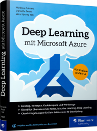 Deep Learning mit Microsoft Azure, ISBN: 978-3-8362-6993-3, Best.Nr. RW-6993, erschienen 05/2019, € 39,90