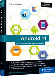 Android 11, ISBN: 978-3-8362-7003-8, Best.Nr. RW-7003, erschienen 01/2021, € 39,90
