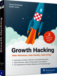 Growth Hacking, ISBN: 978-3-8362-7018-2, Best.Nr. RW-7018, erschienen 10/2019, € 34,90