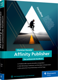 Affinity Publisher, ISBN: 978-3-8362-7350-3, Best.Nr. RW-7350, € 49,90