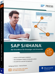 SAP S/4HANA, ISBN: 978-3-8362-7389-3, Best.Nr. RW-7389, erschienen 04/2021, € 29,90