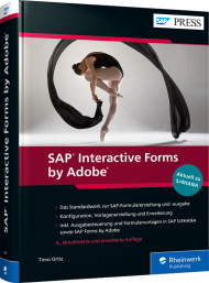 SAP Interactive Forms by Adobe, ISBN: 978-3-8362-7545-3, Best.Nr. RW-7545, erschienen 10/2020, € 89,90