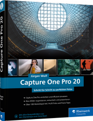 Capture One Pro 20, ISBN: 978-3-8362-7549-1, Best.Nr. RW-7549, erschienen 01/2020, € 49,90