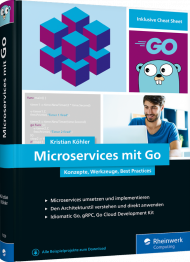 Microservices mit Go, ISBN: 978-3-8362-7559-0, Best.Nr. RW-7559, € 39,90