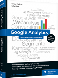 Google Analytics, ISBN: 978-3-8362-7564-4, Best.Nr. RW-7564, erschienen 05/2020, € 49,90