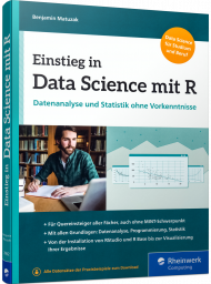 Einstieg in Data Science mit R, ISBN: 978-3-8362-7892-8, Best.Nr. RW-7892, erschienen 12/2020, € 29,90