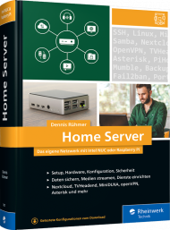 Home Server, ISBN: 978-3-8362-7907-9, Best.Nr. RW-7907, erschienen 01/2021, € 44,90