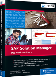 SAP Solution Manager, ISBN: 978-3-8362-7918-5, Best.Nr. RW-7918, erschienen 04/2021, € 89,90